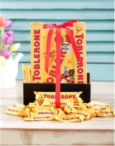 gifts: Toblerone Chocolate Hamper!
