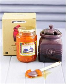gifts: Le Creuset Jam Jar!