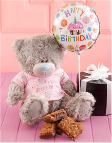 Gifts and Hampers - All Gifts: Chocolate Brownies and Tatty Teddy!