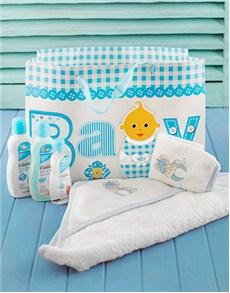 for Baby - Hampers and Gifts: Baby Boy Bath Pamper Pack!