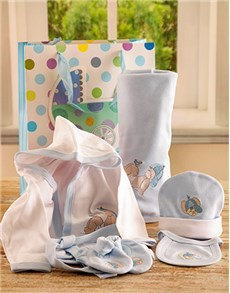 for Baby - Hampers and Gifts: Blue Baby Set!