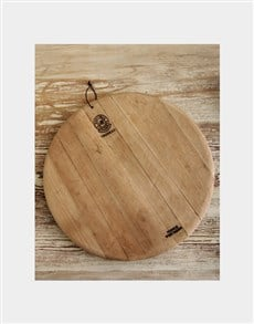gifts: Large Round Trudeau Board!