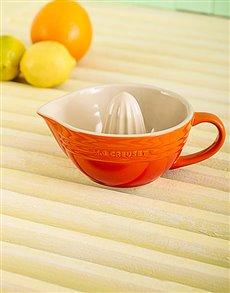 gifts: Le Creuset Citrus Juicer Flame!