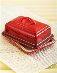 gifts: Le Creuset Butter Dish   Cherry!