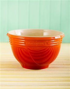 gifts: Le Creuset Mixing bowl Flame!