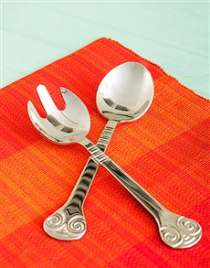Picture of Carrol Boyes Salad Servers - Soleil!