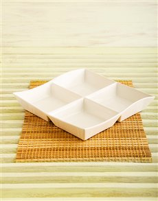 gifts: Maxwell & Williams 4 Divide Platter!