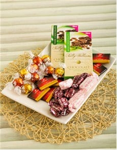 gifts: Maxwell & Williams Nougat & Chocolate Platter!