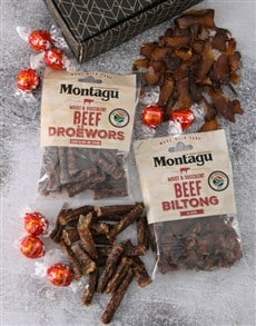 flowers: Biltong and Chocs Treat Box!