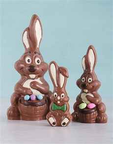 gifts: Three Little Easter Bunny Hamper!