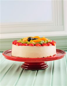 gifts: Cherry Red Le Creuset Cake Stand!