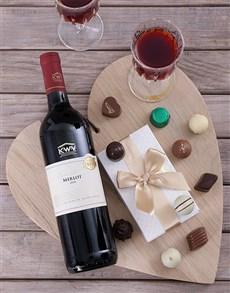 gifts: KWV Merlot & Truffle Hamper!
