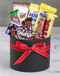 Hat Box of Nestle Chocolates