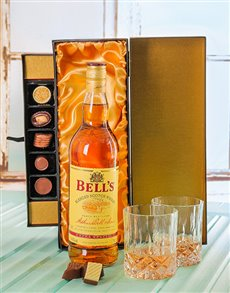 gifts: Bells Whiskey & Luxury Chocolate Gift Set!