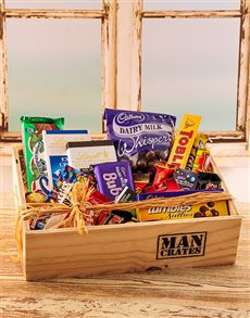 gifts: Selection of Chocolates in a Crate!