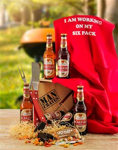Gifts and Hampers - All Gifts: Beer and Braai Gift Set!