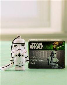 gifts: Star Wars Storm Trooper USB Flash!