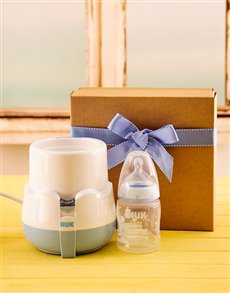 gifts: NUK Baby Bottle And Bottle Warmer!