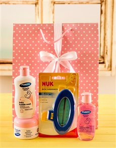 for Baby - Hampers and Gifts: It's a Girl Baby Care Gift!