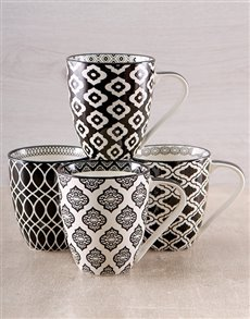 gifts: Marvellous Patterned Mugs!