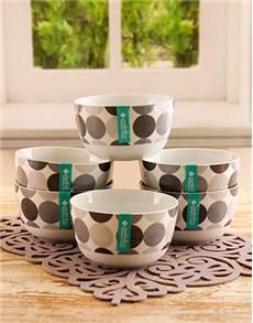 gifts: Polka Grey Bowl Set!