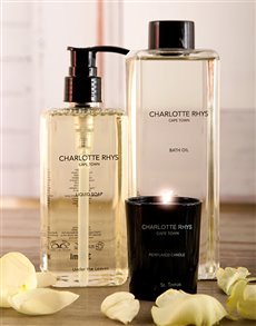 gifts: Charlotte Rhys Pamper Gift Set!