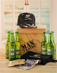 gifts: Sharks Man Crate!