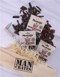 gifts: Biltong Man Crate!