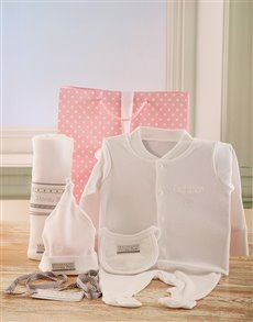 Gifts and Hampers - All Gifts: Baby Poogy Girl Hamper!