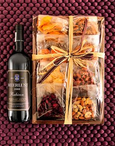 gifts: Meerlust Mixed Fruit and Nut Tray!