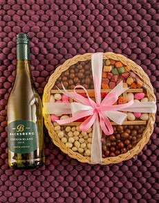 Gifts and Hampers - All Gifts: Backsberg Chenin Blanc Nuts for Nuts!!