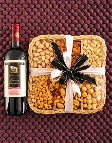 gifts: Tierra Salvaje Wine & Nut Tray!