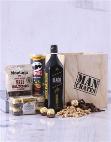 gifts: Johnnie Walker Man Crate!