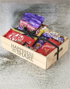 gifts: Chocolate Crate of Happiness!