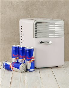 gifts: Desk Fridge with Red Bull!