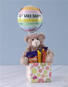 flowers: Chocolates and Cuddles Get Well Gift!