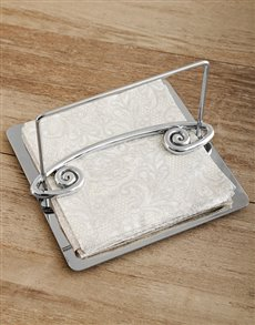 gifts: Carrol Boyes Serviette Holder Coil !