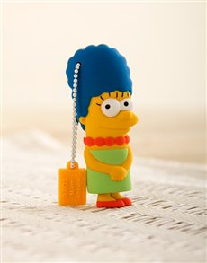 gifts: Simpson USB Flash Drive Marge!