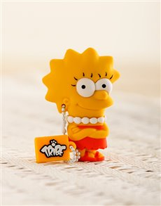 gifts: Simpson USB Flash Drive Lisa!