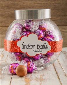 gifts: Irish Cream Lindt Candy Jar!