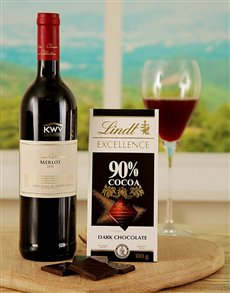 gifts: Merlot and Lindt Excellence Duo !