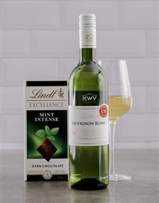 gifts: Sensational Lindt Chocolate and Wine Duo!