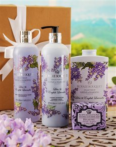 Gifts and Hampers - All Gifts: Baylis & Harding French Affaire Bath Hamper !