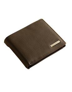 Picture of Busby Vintage Leather Billfold Brown Wallet!