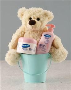 gifts: Baby Boy Bucket!