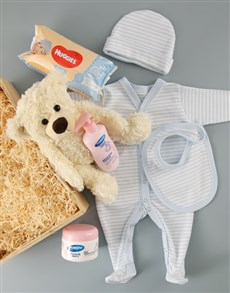 gifts: Baby Boy Crate of Goodies!