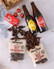 gifts: Craft Beer Biltong and Chocolate Box!