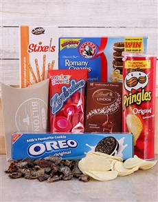 gifts: The Cookie Monster Snack Hamper!