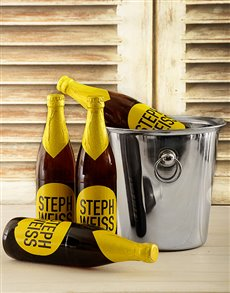 Picture of Steph Weiss Craft Beer Bucket!