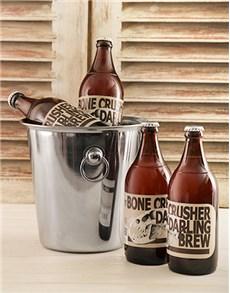 gifts: Bone Crusher Craft Beer Bucket!